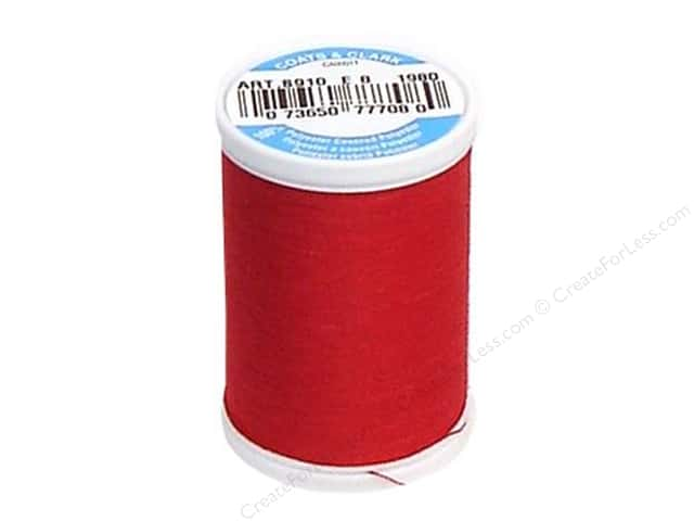 Coats & Clark Dual Duty XP All Purpose Thread 250 yd. #1980 Ming Cherry