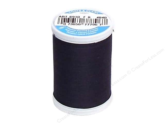 Coats & Clark Dual Duty XP All Purpose Thread 250 yd. #4840 Dark Midnight
