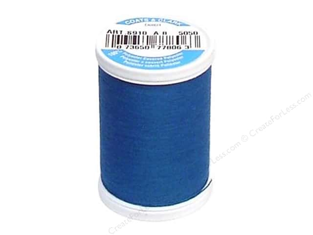 Coats & Clark Dual Duty XP All Purpose Thread 250 yd. #5050 Treasure Blue