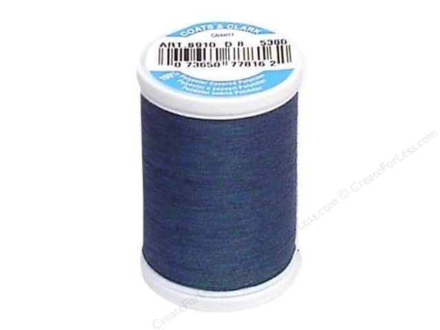 Coats & Clark Dual Duty XP All Purpose Thread 250 yd. #5360 Light Teal Blue