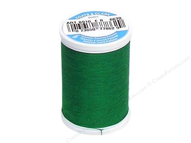 Coats & Clark Dual Duty XP All Purpose Thread 250 yd. #6670 Field Green