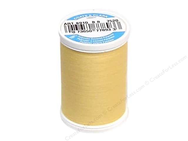 Coats & Clark Dual Duty XP All Purpose Thread 250 yd. #7520 Maize