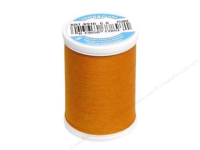 Coats & Clark Dual Duty XP All Purpose Thread 250 yd. #7580 Tortoise