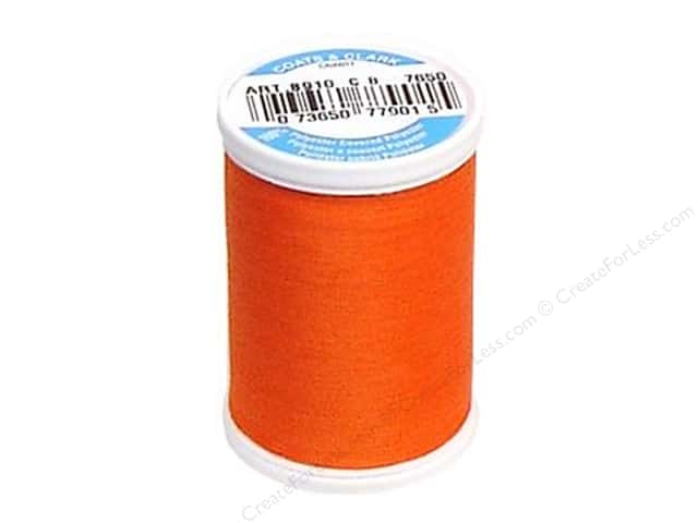 Coats & Clark Dual Duty XP All Purpose Thread 250 yd. #7650 Tango