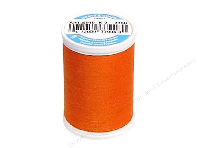 Coats & Clark Dual Duty XP All Purpose Thread 250 yd. #7750 Kumquat