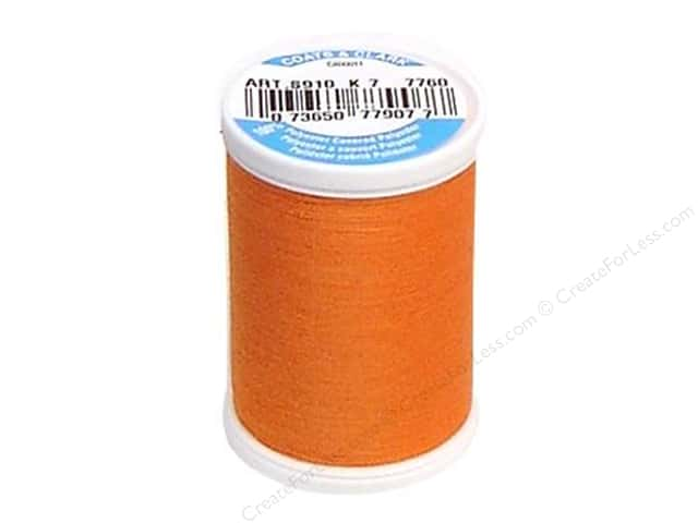 Coats & Clark Dual Duty XP All Purpose Thread 250 yd. #7760 Dark Orange