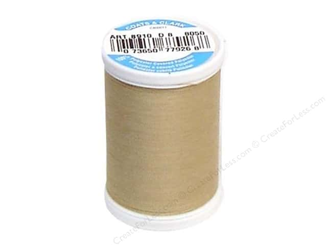 Coats & Clark Dual Duty XP All Purpose Thread 250 yd. #8050 Buff