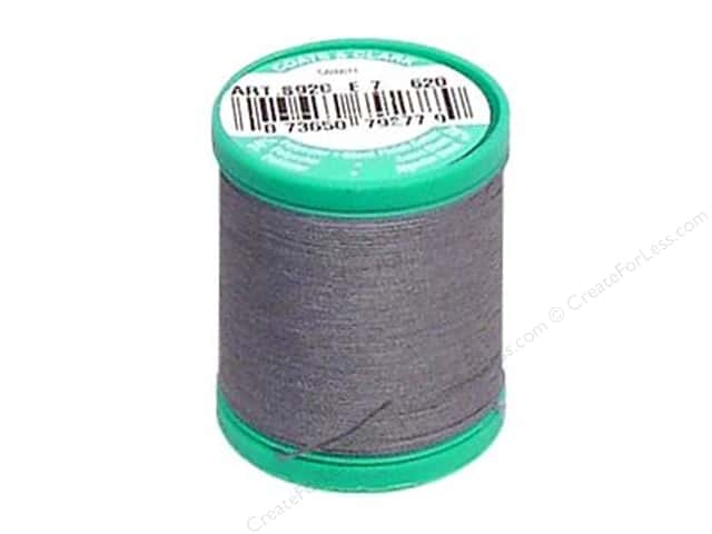 Coats & Clark Dual Duty Plus Button & Carpet Thread 50 yd. #26 Slate