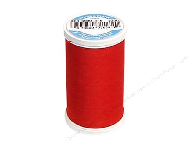 Coats & Clark Dual Duty XP All Purpose Thread  500 yd. #2250 Red