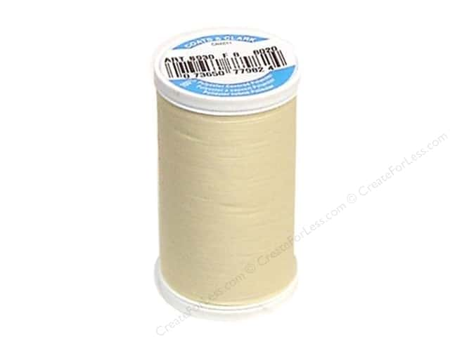 Coats & Clark Dual Duty XP All Purpose Thread  500 yd. #8020 Cream