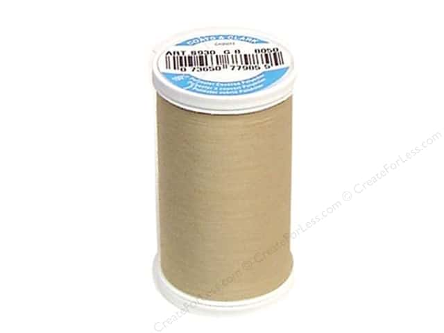 Coats & Clark Dual Duty XP All Purpose Thread  500 yd. #8050 Buff