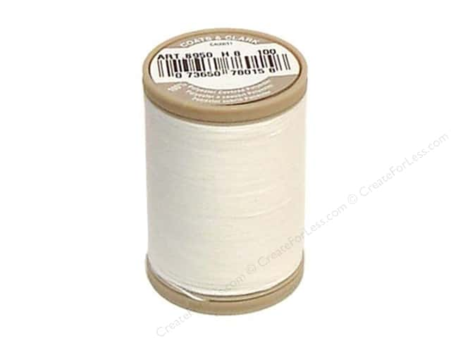 Coats & Clark Dual Duty XP Heavy Thread 125 yd.  #100 White