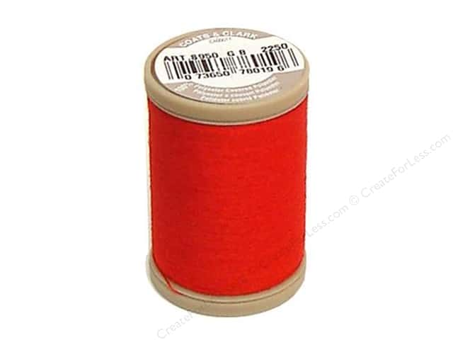 Coats & Clark Dual Duty XP Heavy Thread 125 yd. #2250 Red