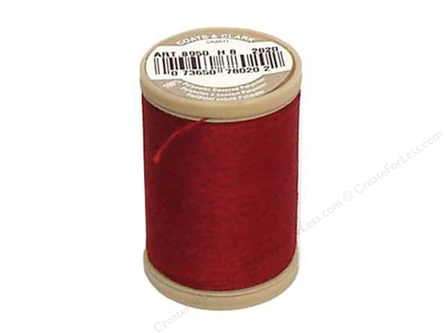 Coats & Clark Dual Duty XP Heavy Thread 125 yd. #2820 Barberry Red