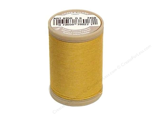 Coats & Clark Dual Duty XP Heavy Thread 125 yd. #7450 Temple Gold