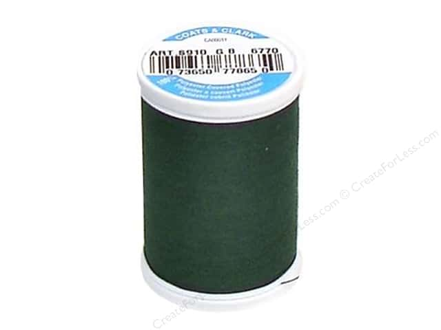 Coats & Clark Dual Duty XP All Purpose Thread 250 yd. #6770 Forest Green