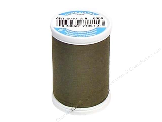 Coats & Clark Dual Duty XP All Purpose Thread 250 yd. #6360 Bronze Green