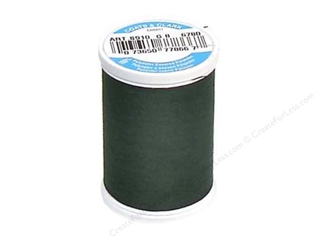 Coats & Clark Dual Duty XP All Purpose Thread 250 yd. #6780 Dark Forest
