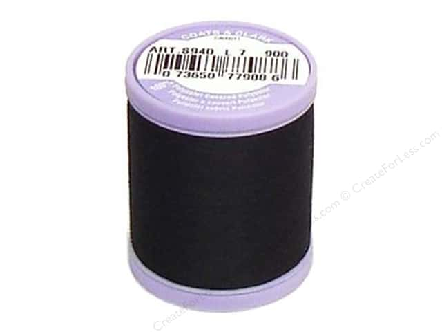 Dual Duty XP Fine Thread 225 yd. #900 Black