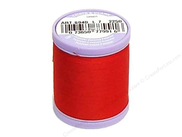 Dual Duty XP Fine Thread 225 yd. #2250 Red