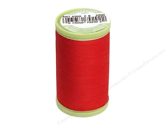 Dual Duty Plus Hand Quilting Thread 325 yd. #2250 Red