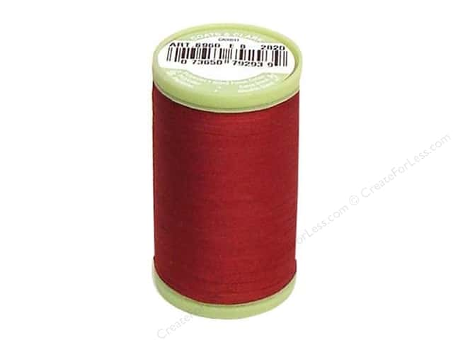 Dual Duty Plus Hand Quilting Thread 325 yd. #2820 Barberry Red