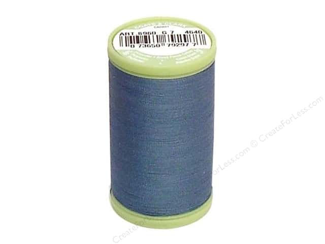 Dual Duty Plus Hand Quilting Thread 325 yd. #4640 Miniature Blue