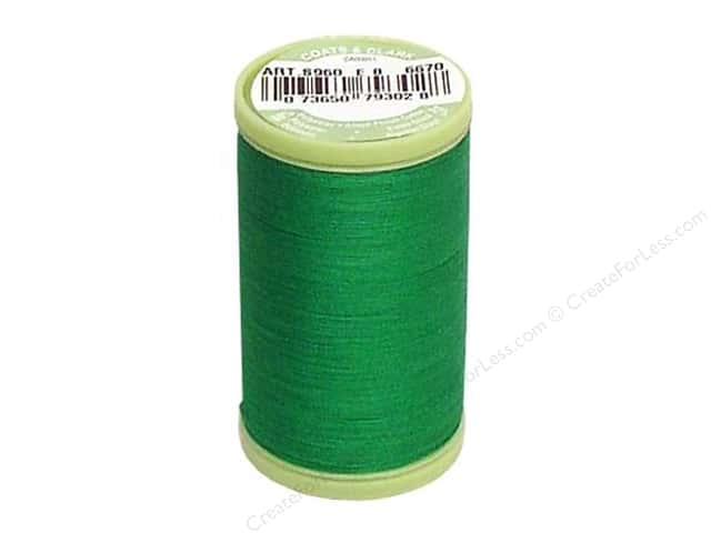 Dual Duty Plus Hand Quilting Thread 325 yd. #6670 Field Green