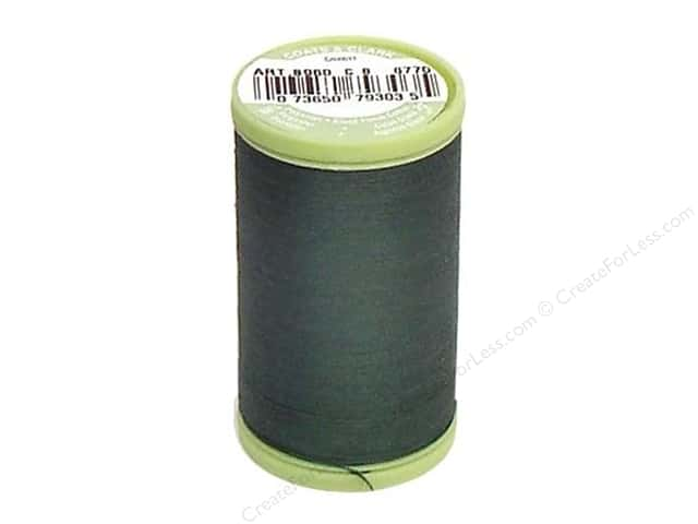 Dual Duty Plus Hand Quilting Thread 325 yd. #6770 Forest Green
