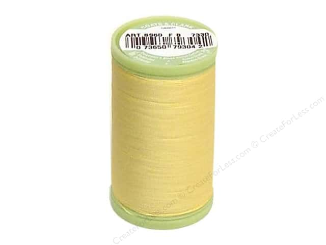Dual Duty Plus Hand Quilting Thread 325 yd. #7330 Yellow