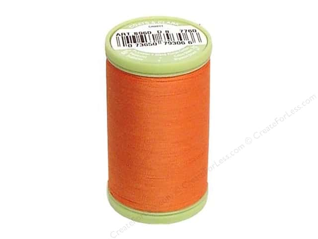 Dual Duty Plus Hand Quilting Thread 325 yd. #7760 Dark Orange