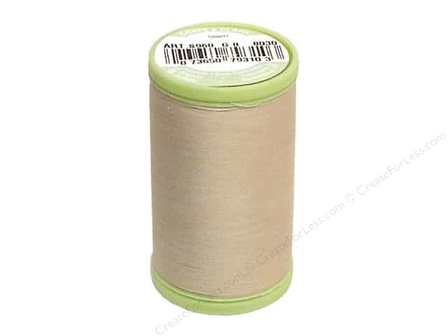 Dual Duty Plus Hand Quilting Thread 325 yd. #8030 Ecru