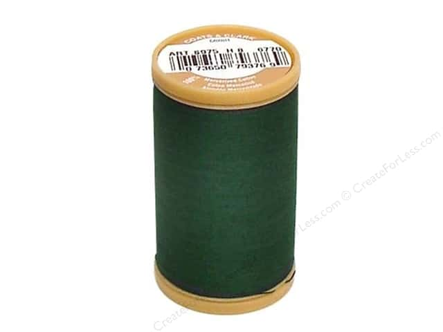 Coats Cotton Machine Quilting Thread #6770 Forest Green 350 yd.
