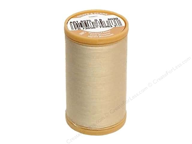 Coats Cotton Machine Quilting Thread #8030 Ecru 350 yd.