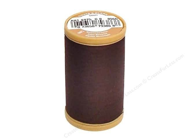 Coats Cotton Machine Quilting Thread #8960 Chona Brown 350 yd.