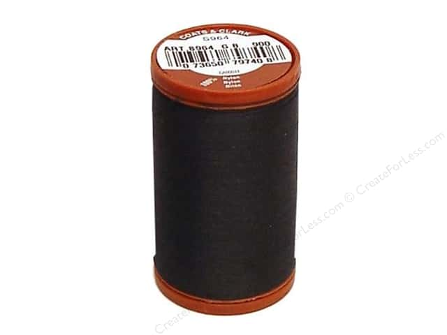 Coats Extra Strong Upholstery Nylon Thread 150 yd. #900 Black
