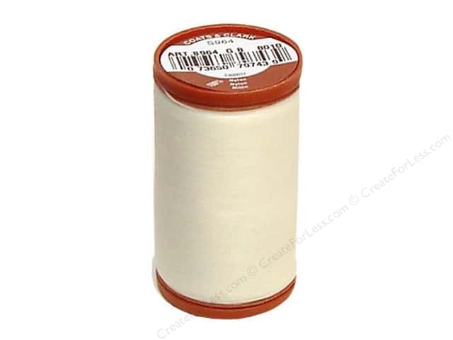 Coats Extra Strong Upholstery Nylon Thread 150 yd. #8010 Natural