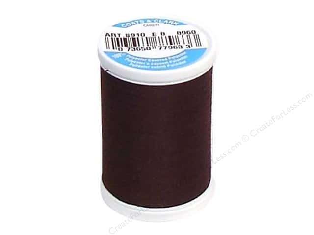 Coats & Clark Dual Duty XP All Purpose Thread 250 yd. #8960 Chona Brown