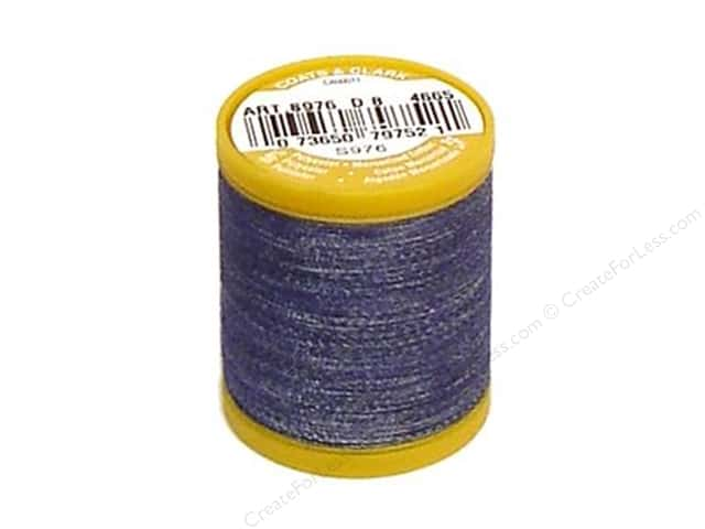 Coats & Clark Denim Thread 125yd Denim Blue