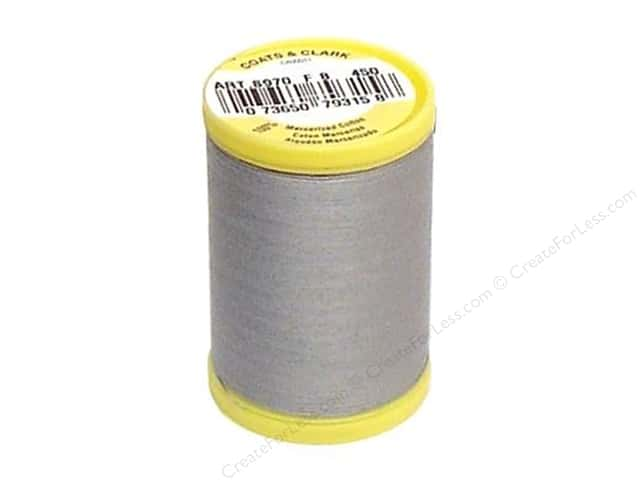 Coats All Purpose Cotton Thread 225 yd. #450 Nugrey
