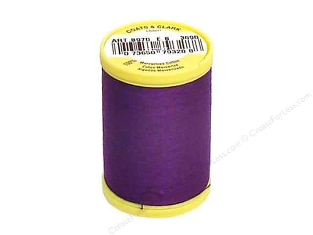 Coats All Purpose Cotton Thread 225 yd. #3690 Purple