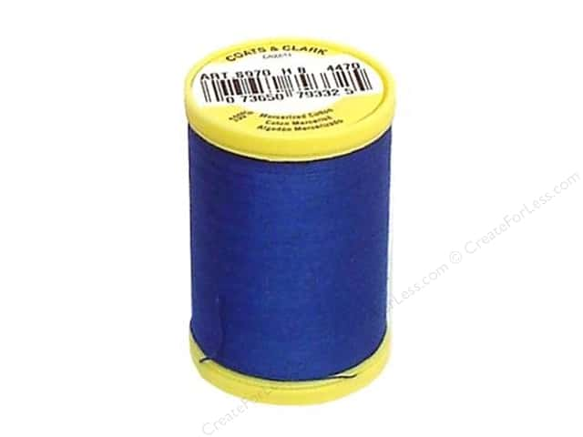 Coats All Purpose Cotton Thread 225 yd. #4470 Yale Blue