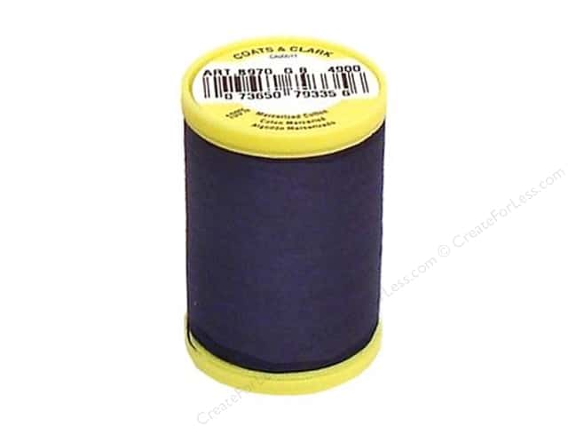 Coats All Purpose Cotton Thread 225 yd. #4900 Navy