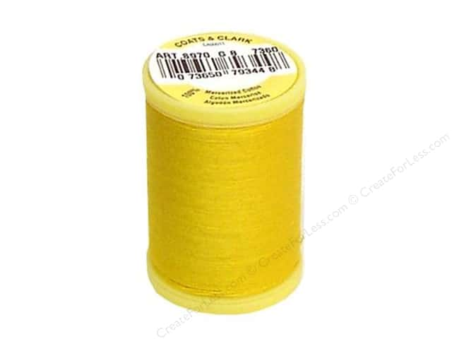 Coats All Purpose Cotton Thread 225 yd. #7360 Spark Gold