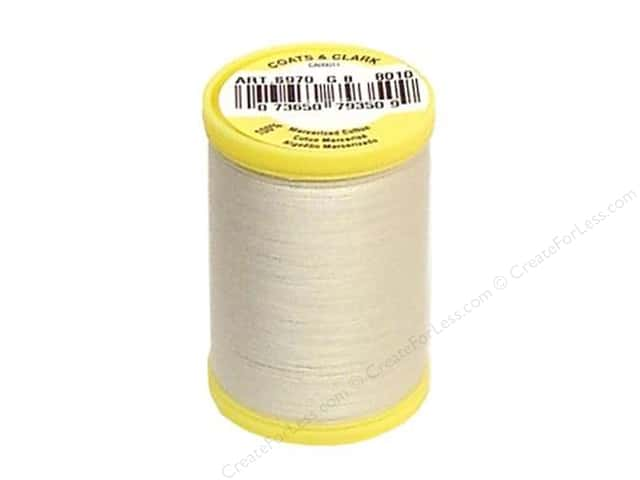 Coats All Purpose Cotton Thread 225 yd. #8010 Natural