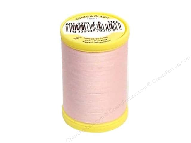 Coats All Purpose Cotton Thread 225 yd. #1180 Light Pink