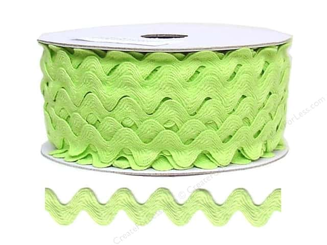 Cheep Trims Ric Rac 11/16 in. Apple