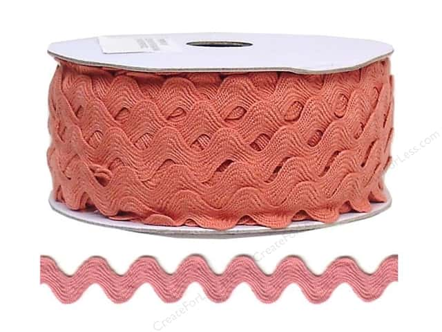 Ric Rac by Cheep Trims  11/16 in. Antique Mauve (24 yards)