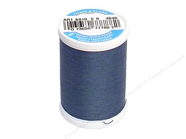 Coats & Clark Dual Duty XP All Purpose Thread 250 yd. #4640 Miniature Blue