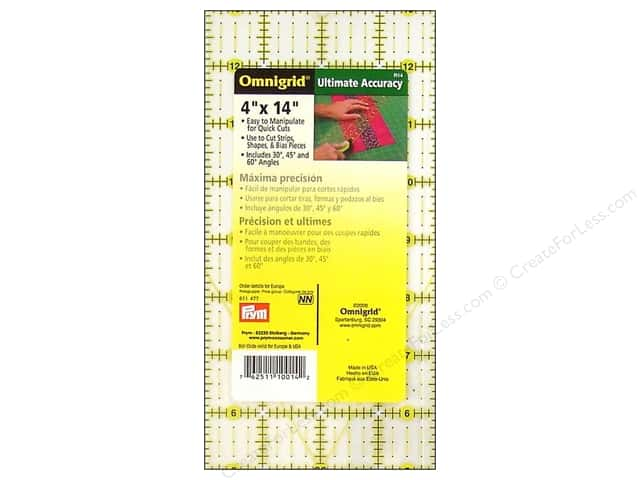 Omnigrid Ruler 4 x 14 in.